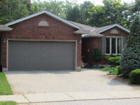 Time to Downsize?  1700 Sq ft Bungalow - Double Garage