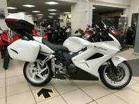 Honda VFR800 with full, colour matched luggage and tinted screen, superb bike