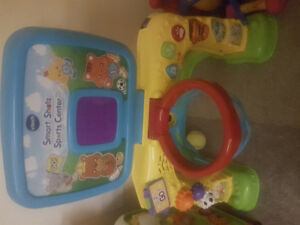 Vtech Smart Shots Kids Toy Football and Basketball with score