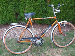 RARE VINTAGE ANTIQUE BICYCLE MADE WEST GERMANY BIKE