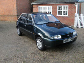 1998 FORD FIESTA LX - FULL FORD HISTORY - IN VGC - LOW MILES @30K