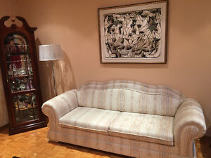 Sofa set/coffee table/side tables West Island Greater Montréal image 1