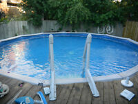18 FOOT ABOVE GROUND SWIMMING POOL