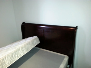 Bed frame**GREAT DEAL**200$ OBO