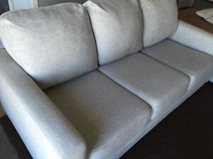 Beautiful light grey couches