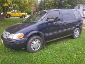 2002 Chevrolet Venture Value Minivan, Van