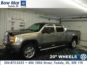 "2012 GMC Sierra 2500HD SLT  -POWER PEDALS*20"" WHEELS*NAVIGATION*"
