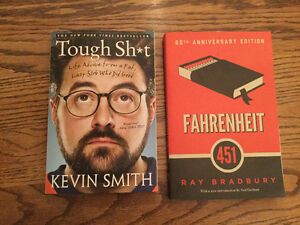 New soft cover books, both for $5