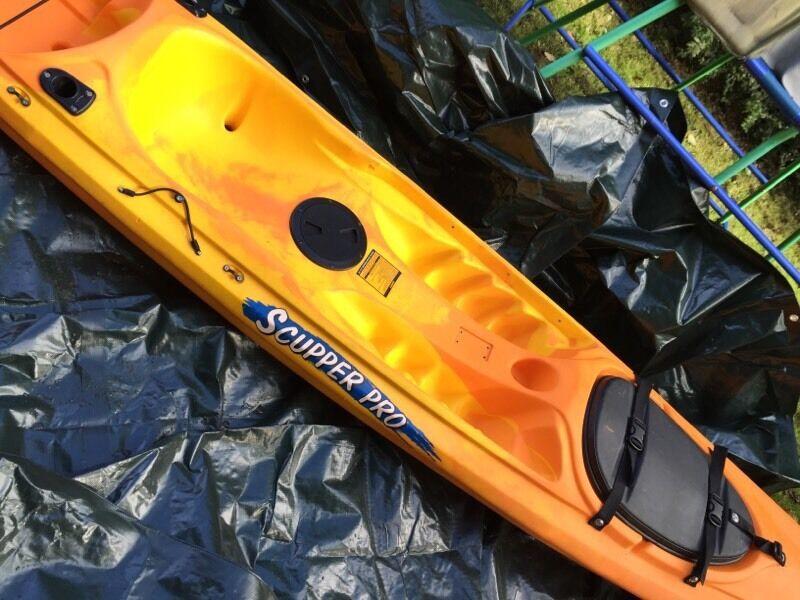Reduced Ocean Kayak Scupper Pro Tw Angler In