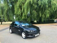 2005 Peugeot 206 1.4 16v Sport 3 Door Hatchback Black