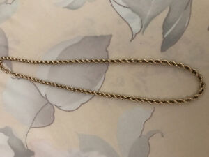 10K Solid Gold Rope Chain!
