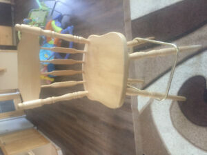 4 oak island or bar chairs