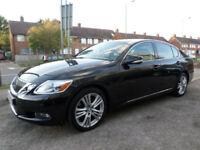 2009 Lexus GS 450h 3.5 CVT SE 4DR 09 REG Petrol Black