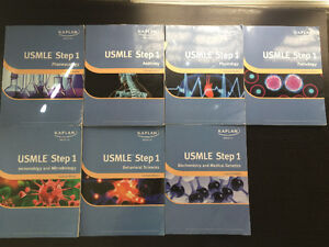 Kaplan USMLE Step 1 Lecture Notes 2011 + Free First AID textbook