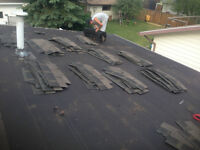experienced roofing labourers