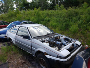 parting out 1986 corolla