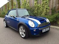 MINI COOPER S CONVERTIBLE AUTO, FULL HISTORY, NEW MOT.