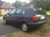 1995 VW mk3 golf GL 1.9 TDI - 3 owners from new.