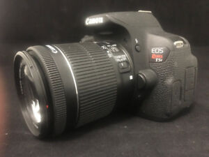 Canon EOS Rebel T5i w/ 18-55mm DSLR Lens Priced low to sell fast