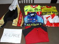 USED cycling clothes jerseys MAILLOTS BIBS shorts S MED L XL