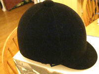 English Velvet Riding Helmet