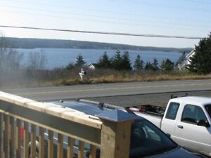 Two bedroom flat over looking Jeddore Harbour