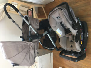 Stroller , car seat with all the fixings!