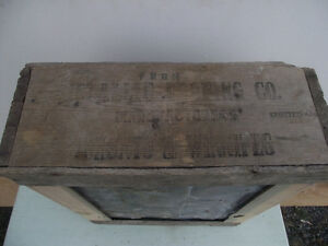 Antique Steel Roofing Shingle and Packing Crate Kingston Kingston Area image 5