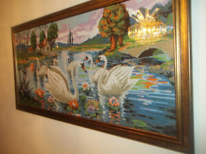 Vintage oil Painting, 3-D Paintiand other Collectible ART pieces