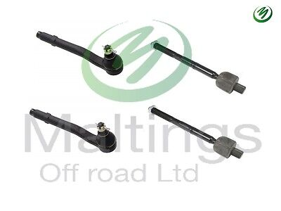 range rover l322 steering rack repair kit inner and out ball joints 02-2012