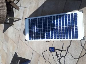 40 watt 12 volt crystalline solar panel kit