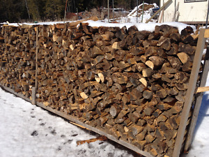 seasoned cut and split firewood