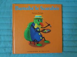 Livre pour enfant: Barnabé le scarabée