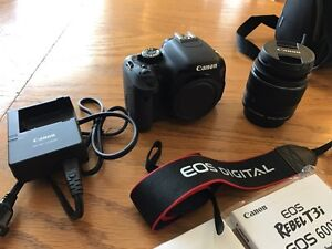 Canon T3i Perfect Shape w/ Original Packing + Case 400 FIRM Sarnia Sarnia Area image 1