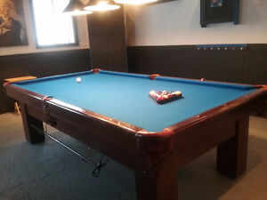 Table de billard Special Anniversary 9 x4 1/2