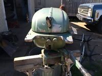 Old Johnson 9.9HP outboard quick sale
