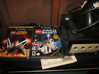 Nintendo GameCube with Two Lego Star Wars Games