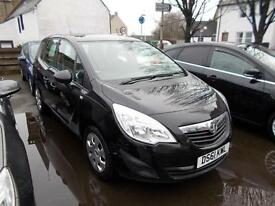 2011 Vauxhall Meriva 1.4t 16v ( 140ps ) ( a/c ) 1398cc Exclusiv