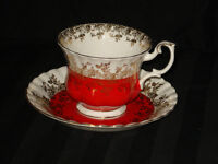 Rental Vintage Cups and Saucers