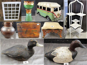 Online Auctions - Antiques, Collectable, estate items, new stuff