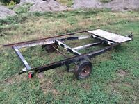 Aluminum Tilt and Load Utility Trailer Project