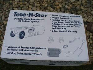 TOTE N STORE - Sewer Tote - Brand new with box