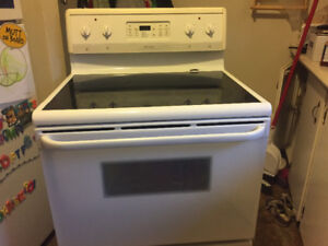 Fridgidaire glass top stove