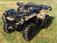 2014 Can-Am Outlander 650 XT Camo