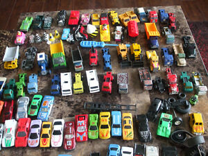 Vintage Matchbox Cars and trucks, Hot Wheels