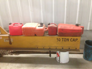 assorted gas tanks