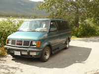 GMC Safari Camper Van with bed