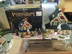 Victorian Village Collection Porcelain Houses.