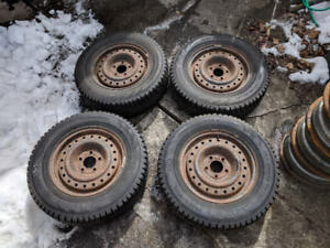 """15""""  Winter tires for sale."""