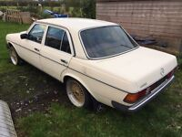 Mercedes W123 200 project
